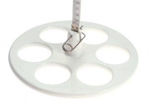 Đĩa Secchi đo độ trong của nước
