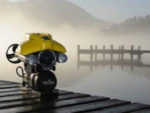 Robot khảo sát hồ chứa đập thủy điện
